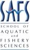 School of Aquatic and Fishery Sciences Logo